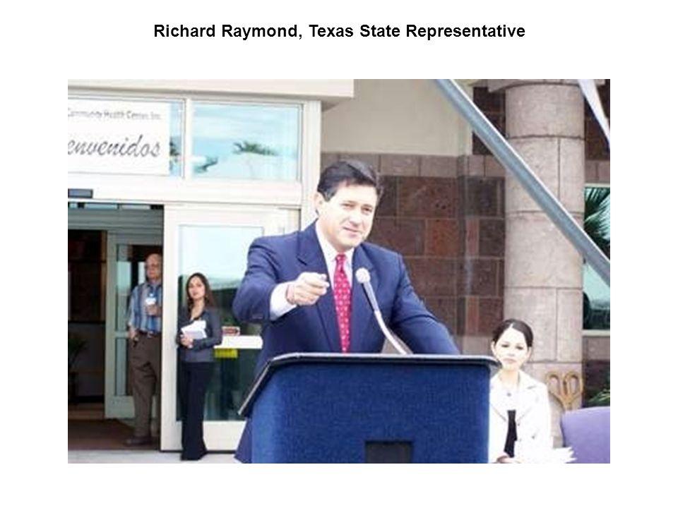 Richard Raymond, Texas State Representative