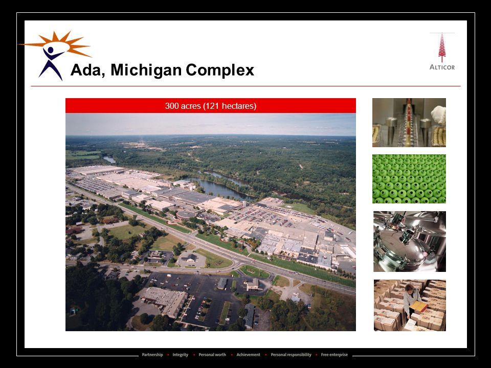 Ada, Michigan Complex 300 acres (121 hectares)