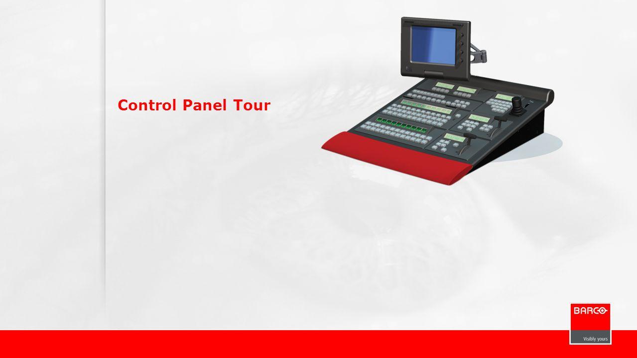 Control Panel Tour