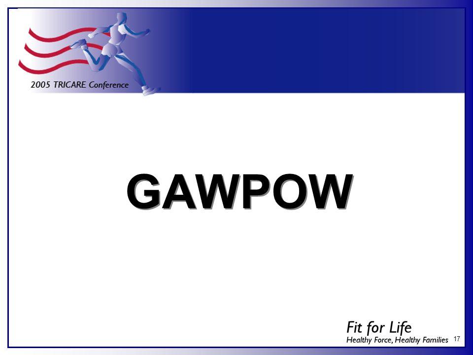 17 GAWPOW