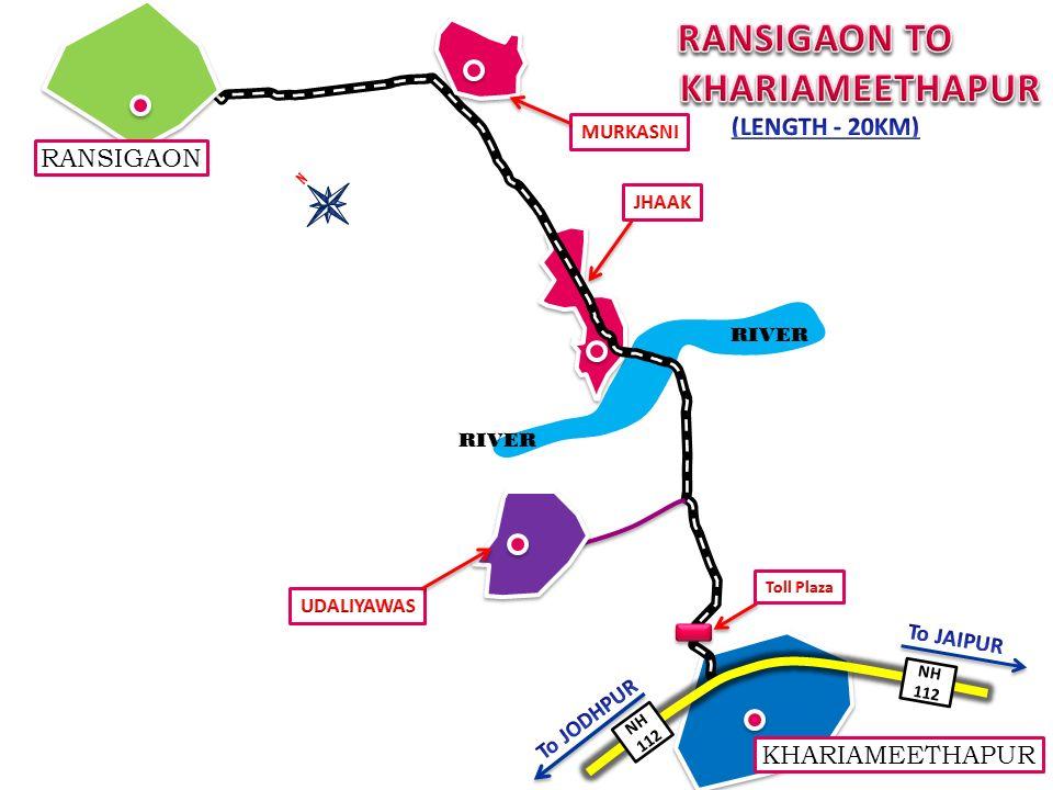 RANSIGAON NH 112 KHARIAMEETHAPUR