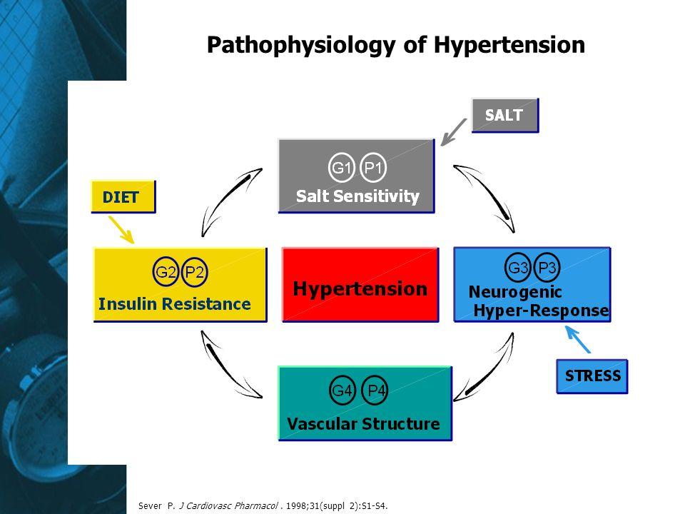 Pathophysiology of Hypertension Sever P. J Cardiovasc Pharmacol. 1998;31(suppl 2):S1-S4.