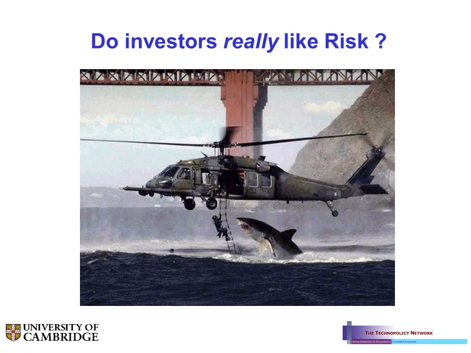 Do investors really like Risk ?
