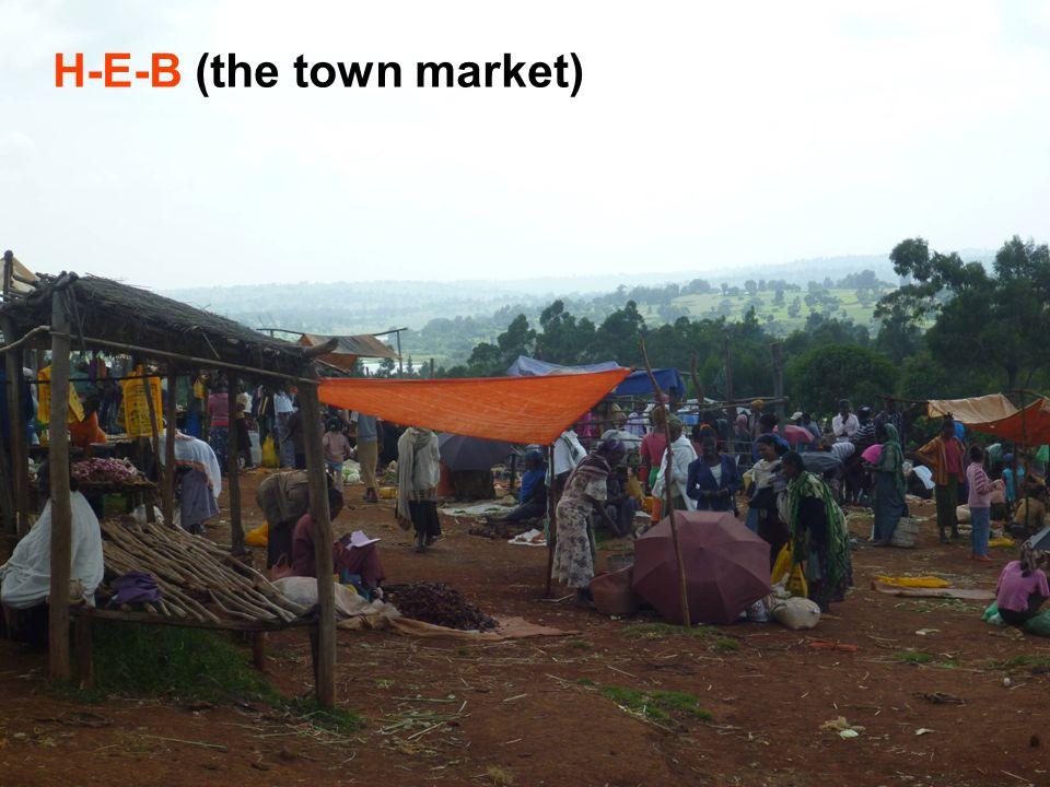 H-E-B (the town market)