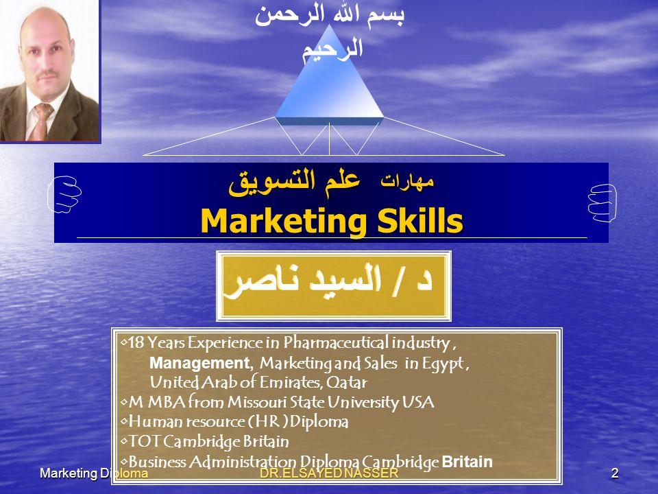 DR.ELSAYED NASSER 1 Marketing Diploma
