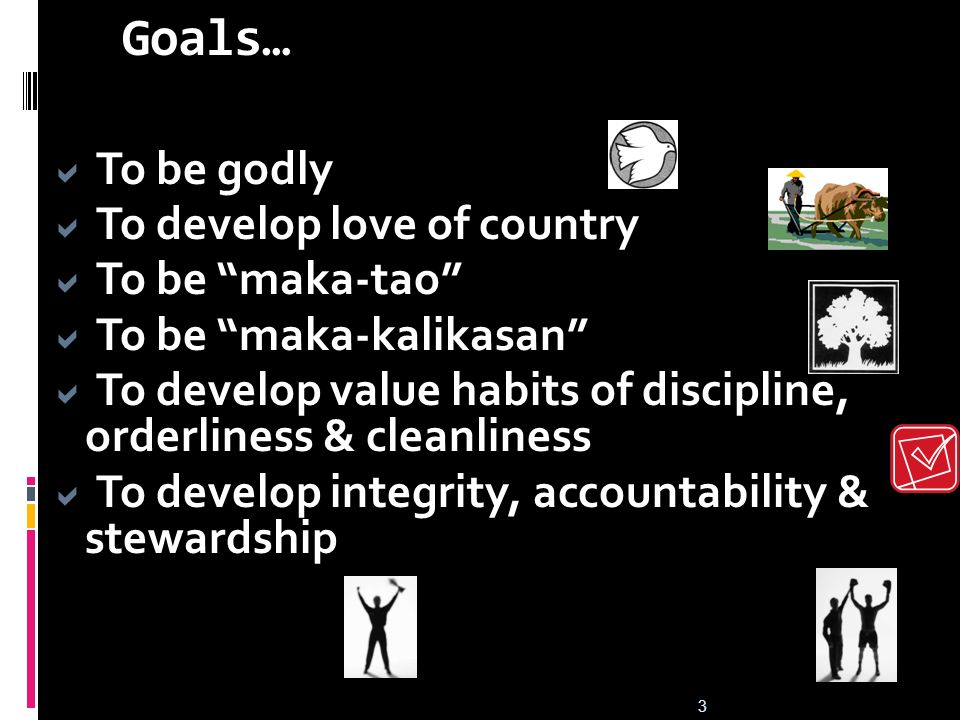 Introduction to PAVES Goals of AGCPS/MRP Why AGCPS/MRP? 10 National Illnesses Graft and Corruption 2 Approaches of the OMB 2