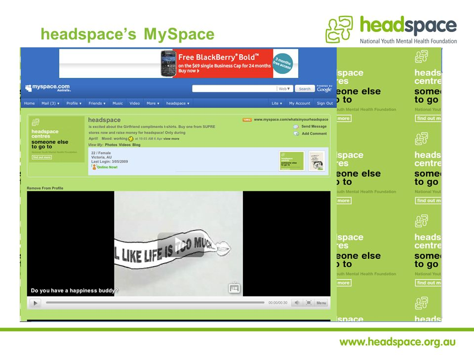 headspaces MySpace
