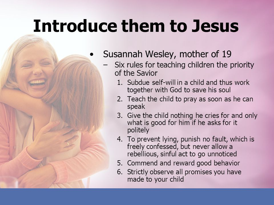 Is your child ready to serve God.