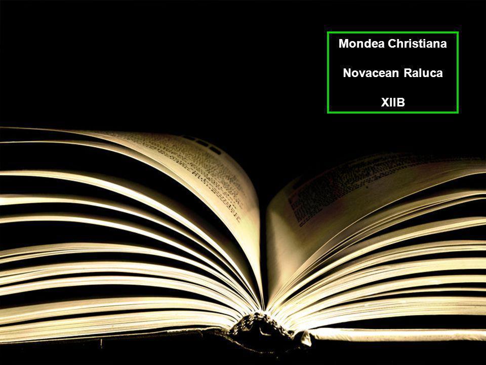 Mondea Christiana Novacean Raluca XIIB