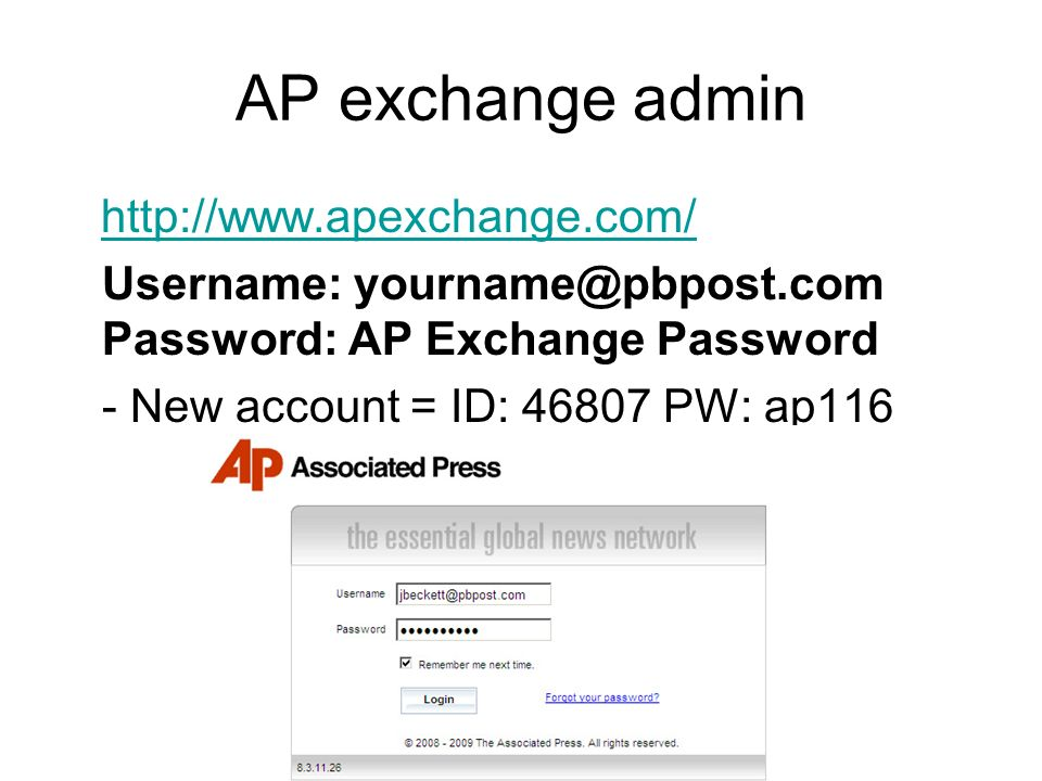 AP exchange: Create, manage searches 1.Search tools cheat sheet   subject search overview  cheat sheetsubject search overview subject names list   product ids   industry codes  subject names listproduct idsindustry codes - slug!=brief* AND subjectname= animated films AND category!=v AND productid= 30598 AND slug!=list* AND slug!=BC-EU* - Search within results check box - Advanced search and PreviewAdvanced search - Sometimes Keyword works better; also, try gradually building your search.