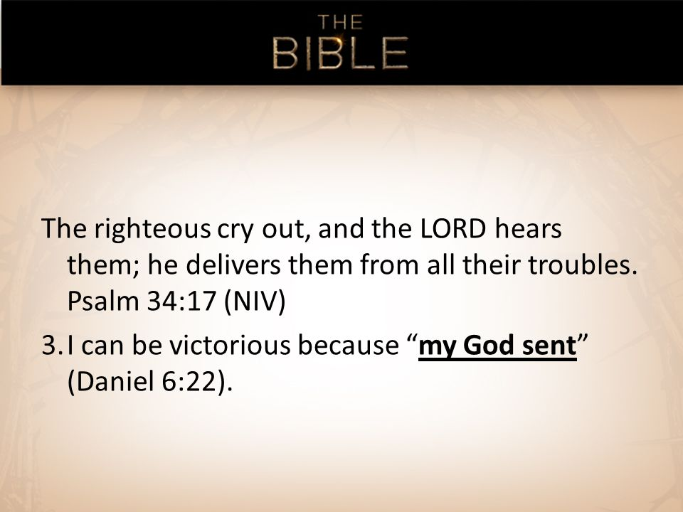 The righteous cry out, and the LORD hears them; he delivers them from all their troubles.