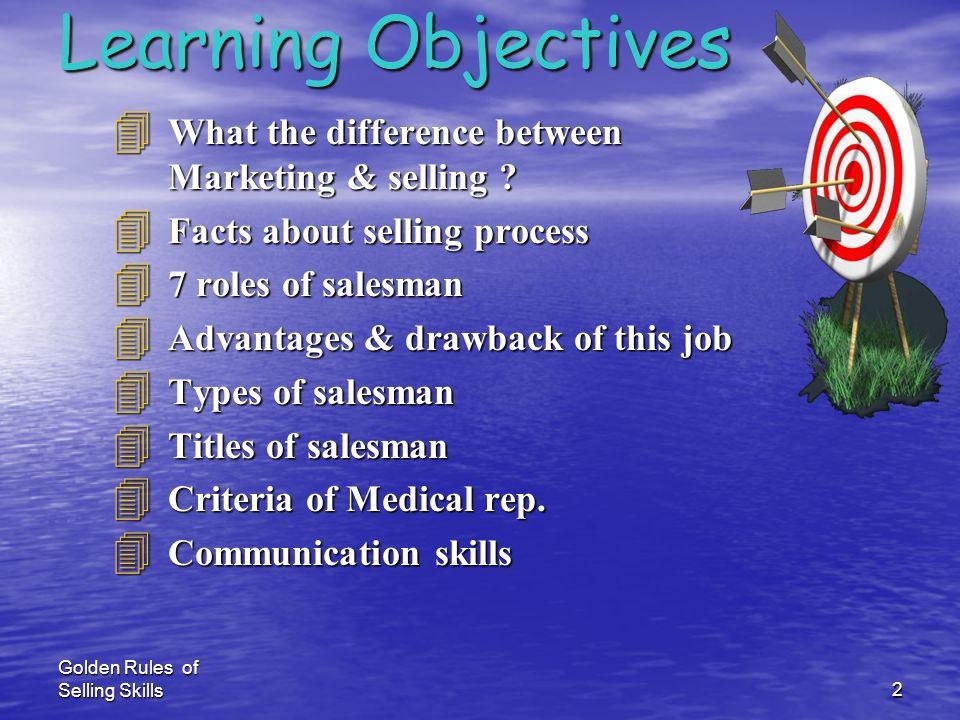 Golden Rules of Selling Skills1 Dr.Elsayed Nasser الدكتور / السيد ناصر Dr.Elsayed Nasser الدكتور / السيد ناصر