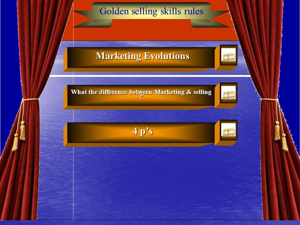 Golden Rules of Selling Skills4 Learning Objectives Learning Objectives C مراحل التسويق وكيف نشأ؟ C حقائق عن مهنة البيع C مهارة حفظ أسماء العملاء من ا