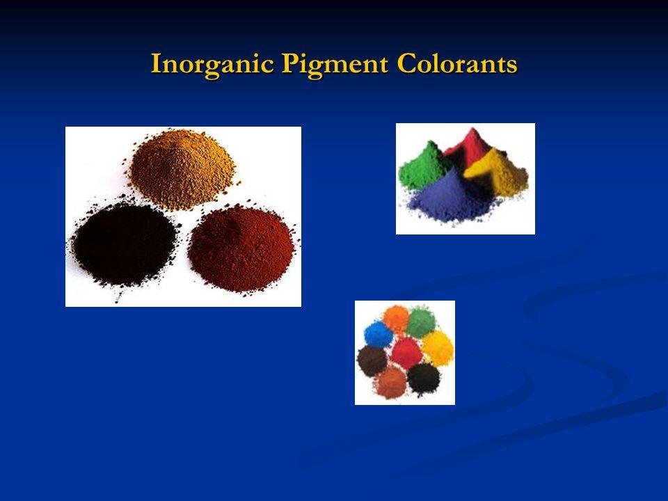 Inorganic Pigment Colorants