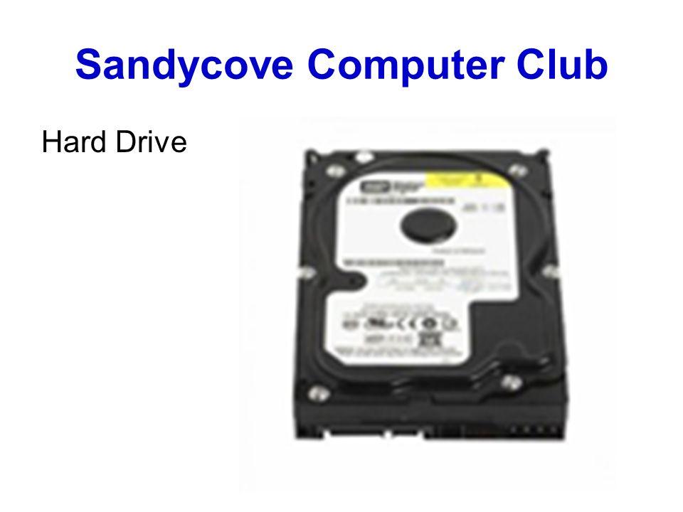 Sandycove Computer Club Hard Drive