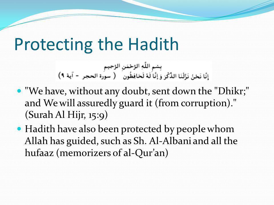 Protecting the Hadith