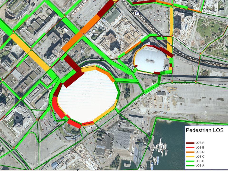 DVTEMS Pedestrian Model Transportation Management Centre (TMC): Will be staffed 24/hrs More traffic intersection cameras