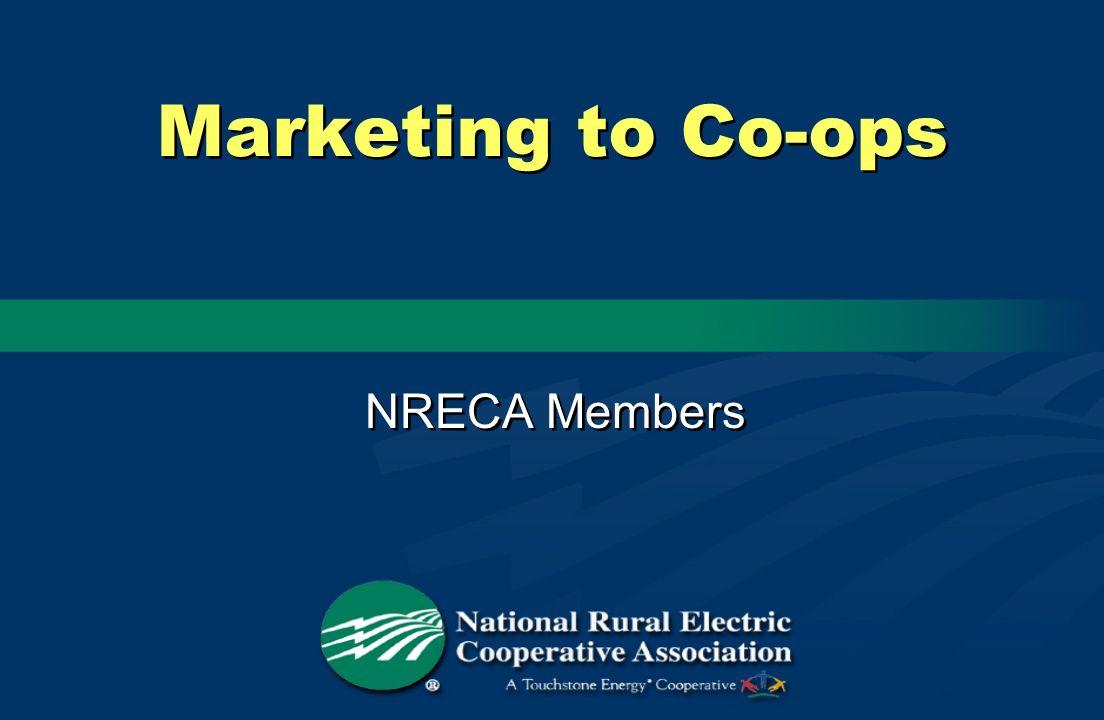 Marketing to Co-ops NRECA Members