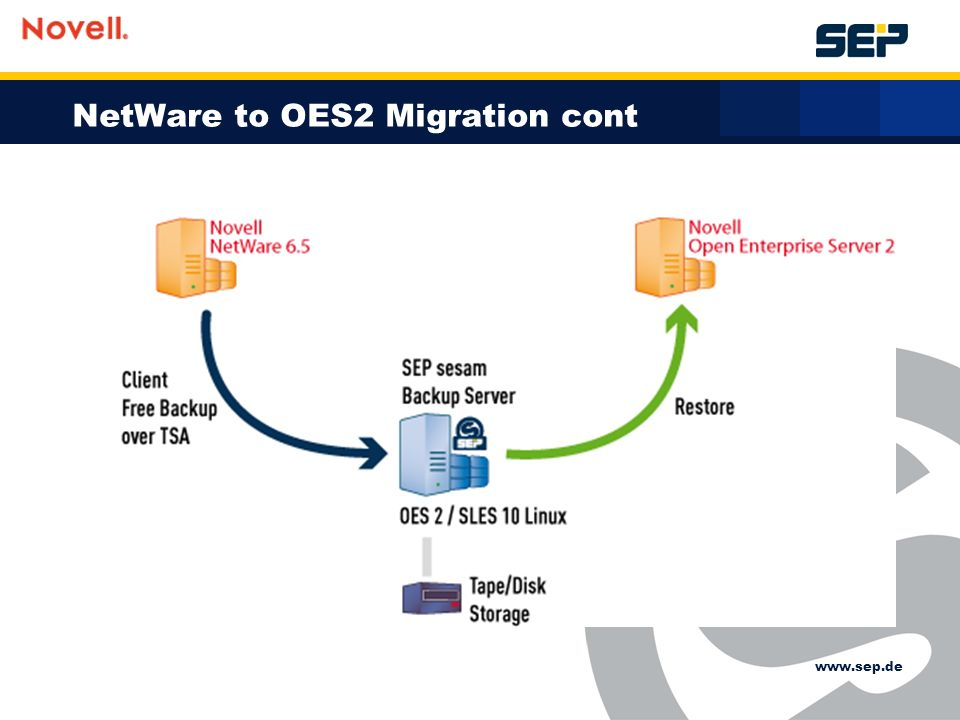 NetWare to OES2 Migration cont