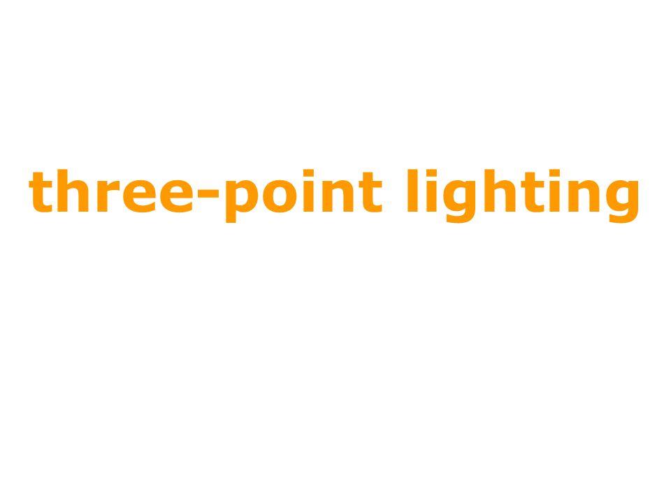three-point lighting