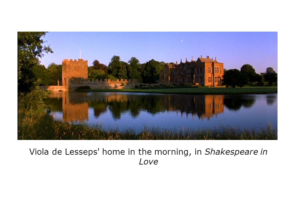 Viola de Lesseps' home in the morning, in Shakespeare in Love