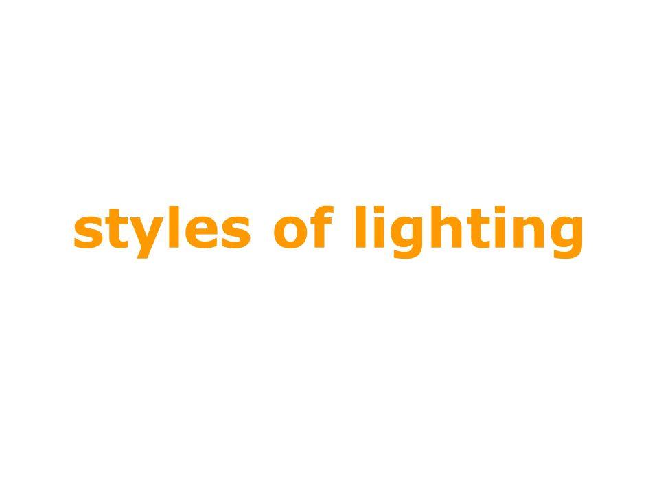 styles of lighting