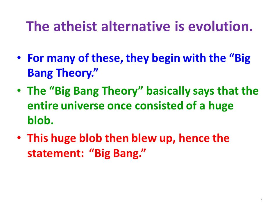 If we pursue the Big Bang Theory, Where are we.Be realistic.