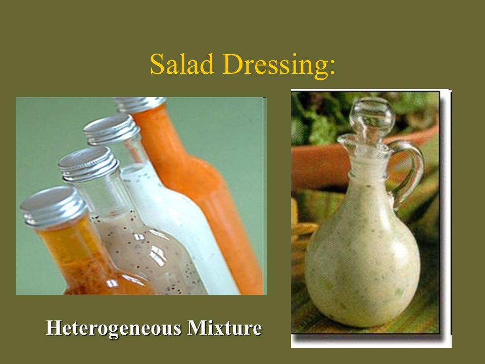 Heterogeneous Mixture