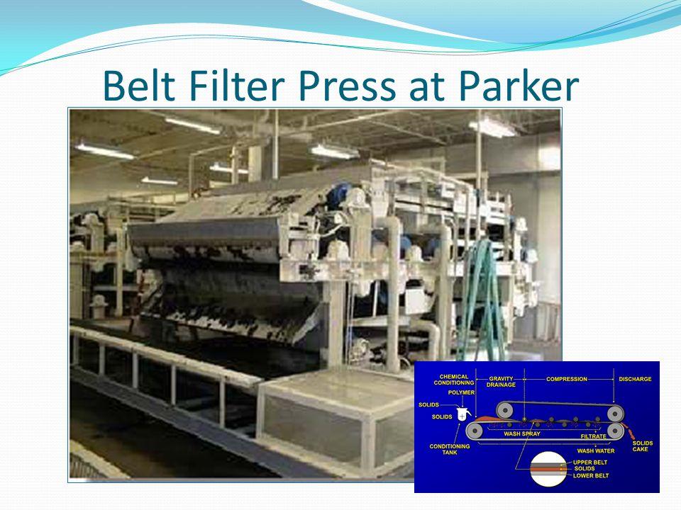 Belt Filter Press at Parker