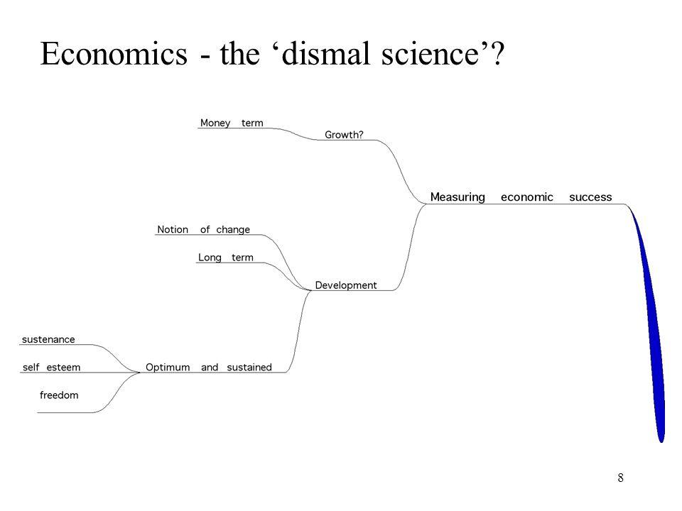 8 Economics - the dismal science?