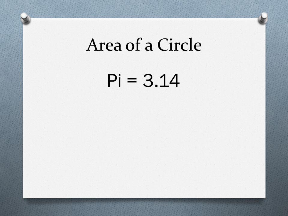 Pi = 3.14