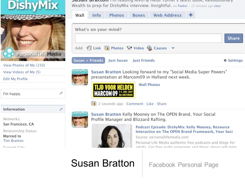 Susan Bratton Facebook Personal Page