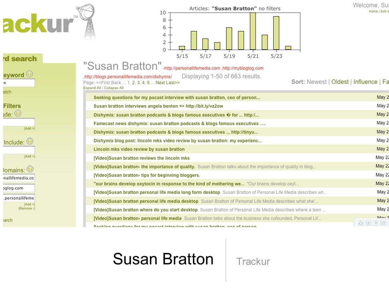 Susan Bratton Trackur