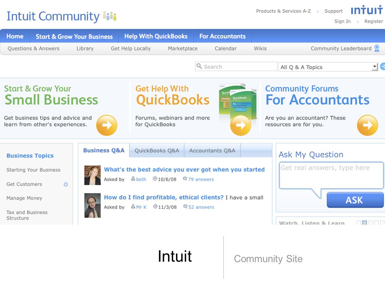 Intuit Community Site