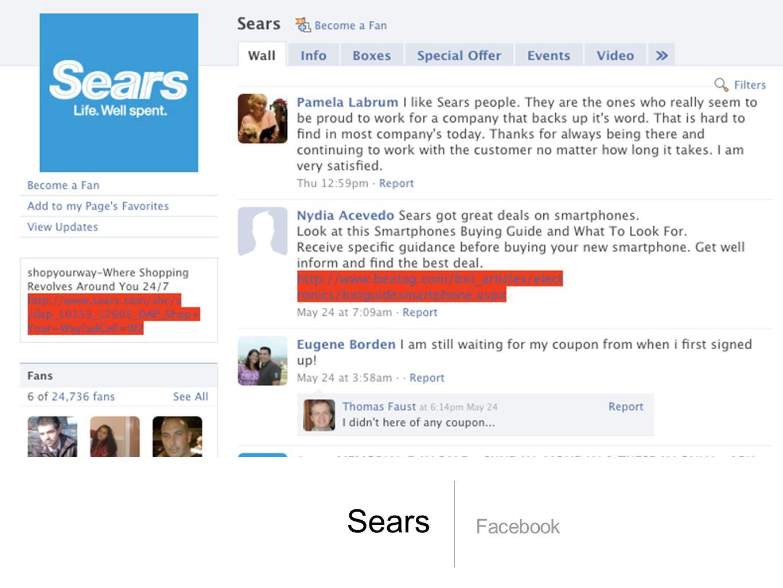 Sears Facebook