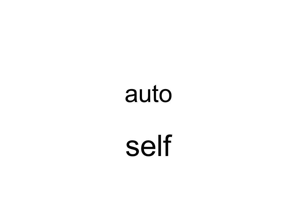 auto self