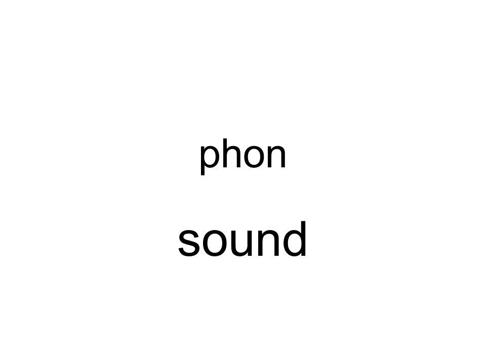 phon sound