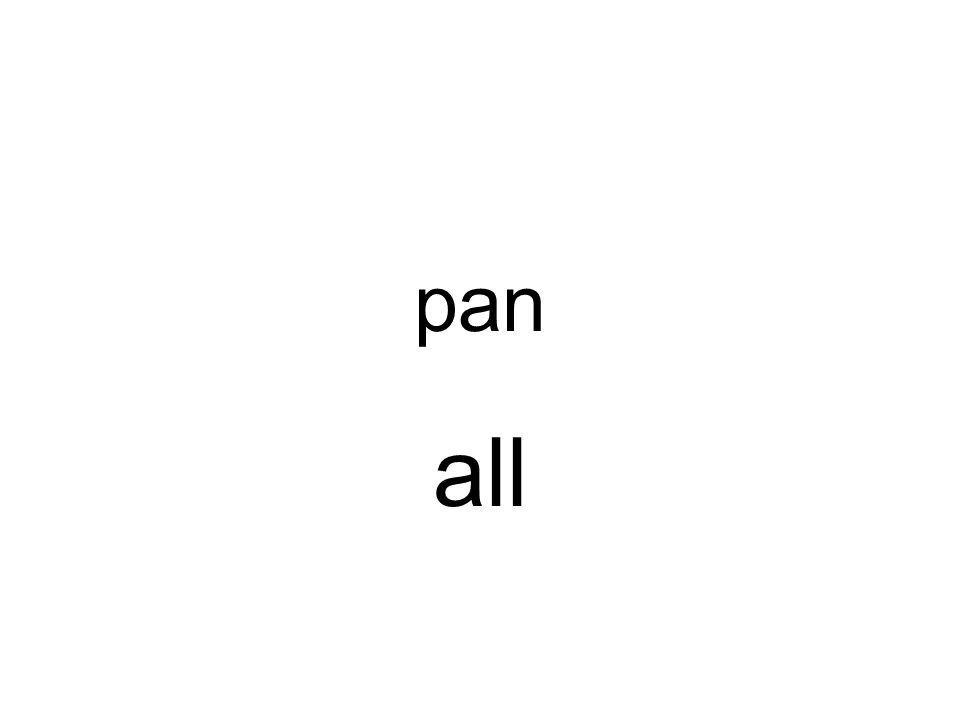 pan all