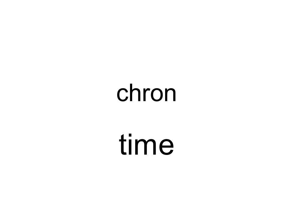 chron time