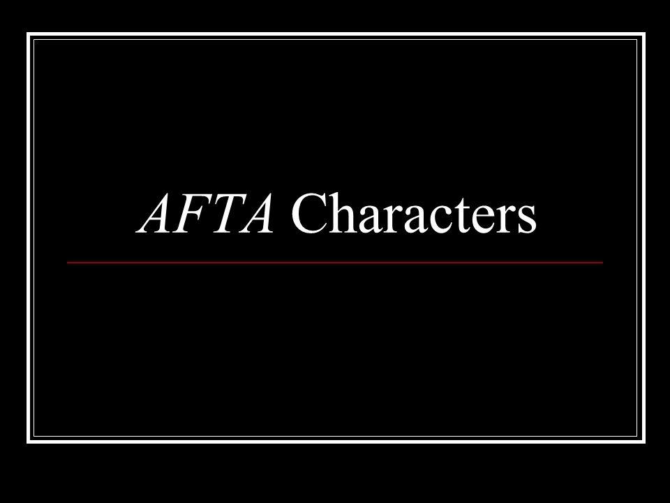 AFTA Characters