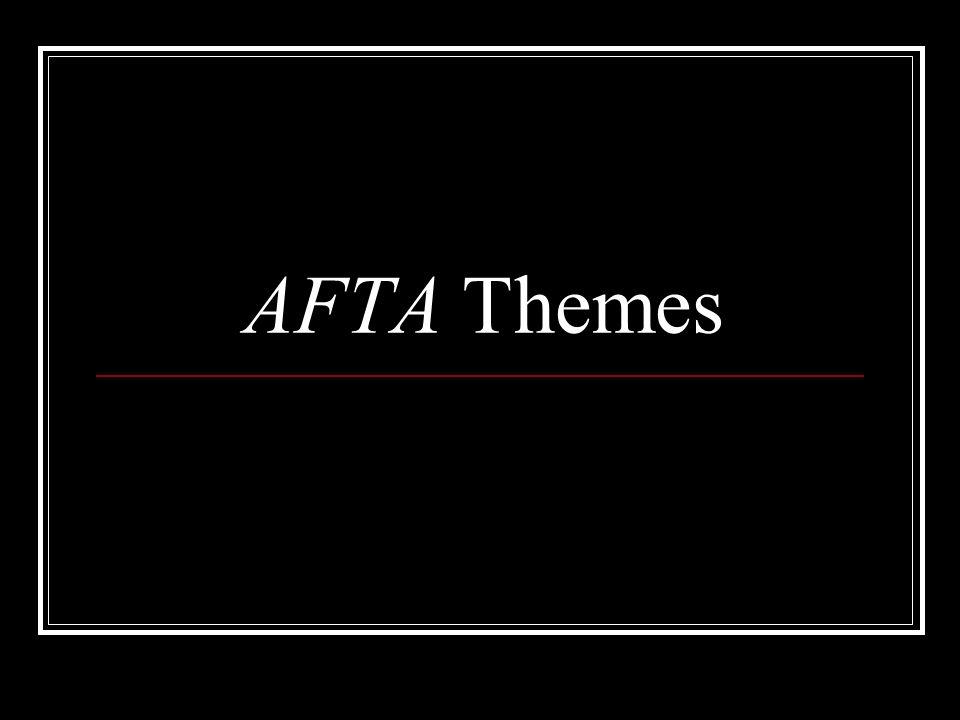 AFTA Themes