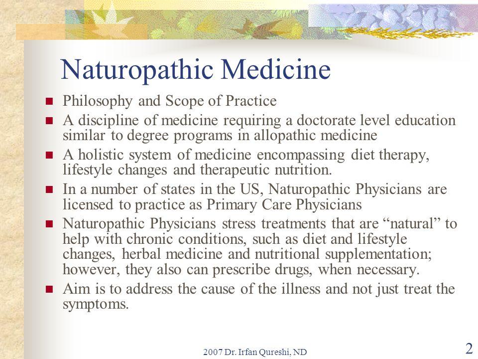 2007 Dr. Irfan Qureshi, ND 43 Antioxidants as free radical scavengers
