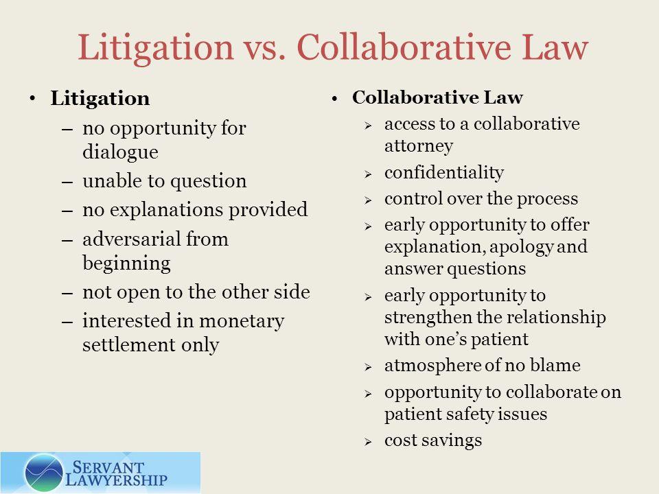 Litigation vs.