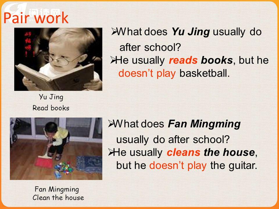 Key points: 1. eat out 2. play tennis/golf/baseball/football/basketball 3. go+v.-ing …… go to + go fishing/shopping/skating/swimming 4. How often do t