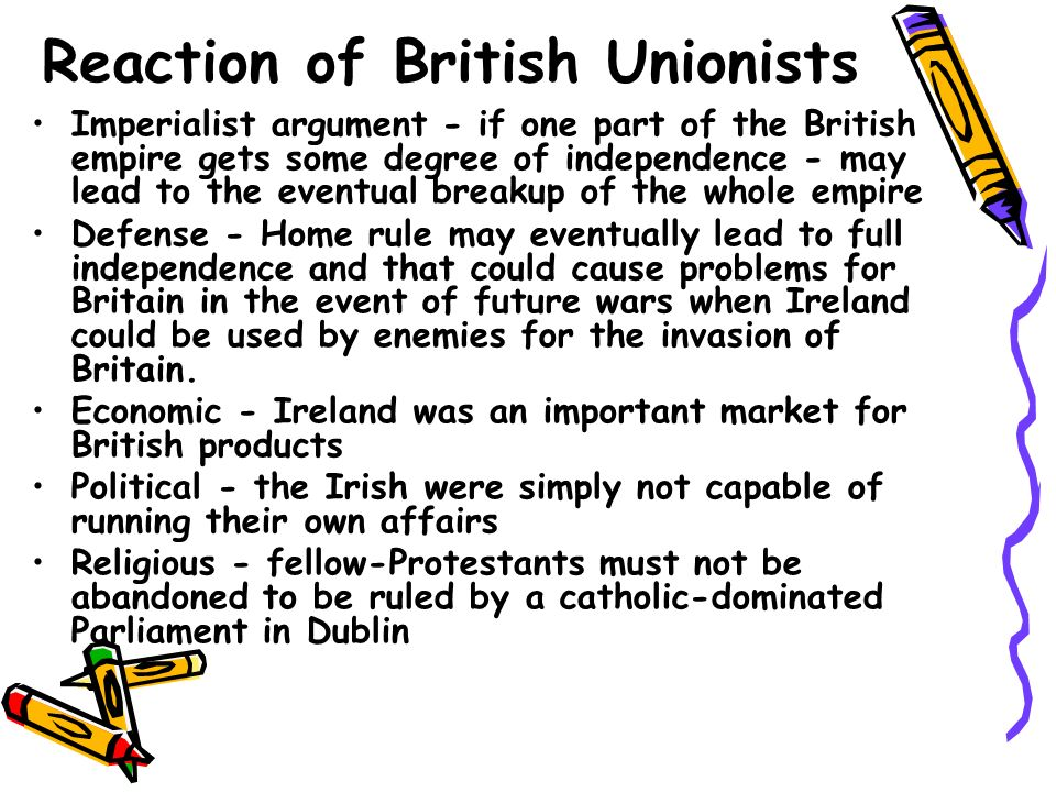 Main result of 1886 HR Bill Orange order revived Unionist Party emerged support of leading Conservatives and many Liberals Bill defeated