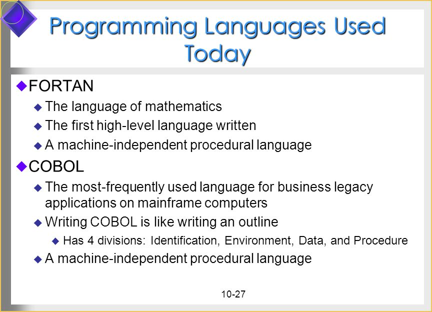 "Presentation ""10-1. Systems Analysis & Programming 10.1 Systems ..."