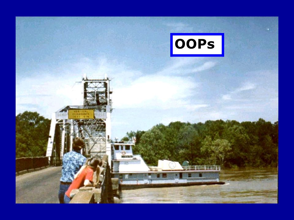 Not so with the tug. The bridge has not opened.