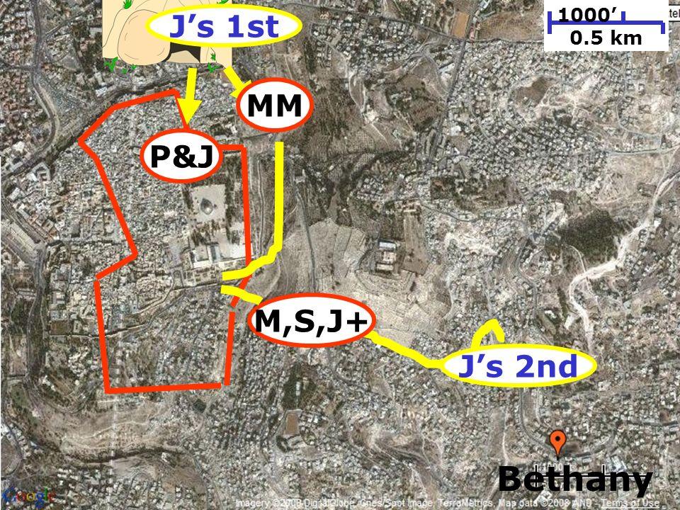 199 1000 0.5 km Bethany P&J Js 1st Js 2nd M,S,J+ MM