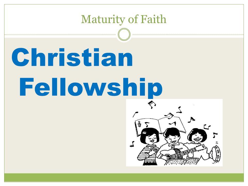 Maturity of Faith Christian Fellowship