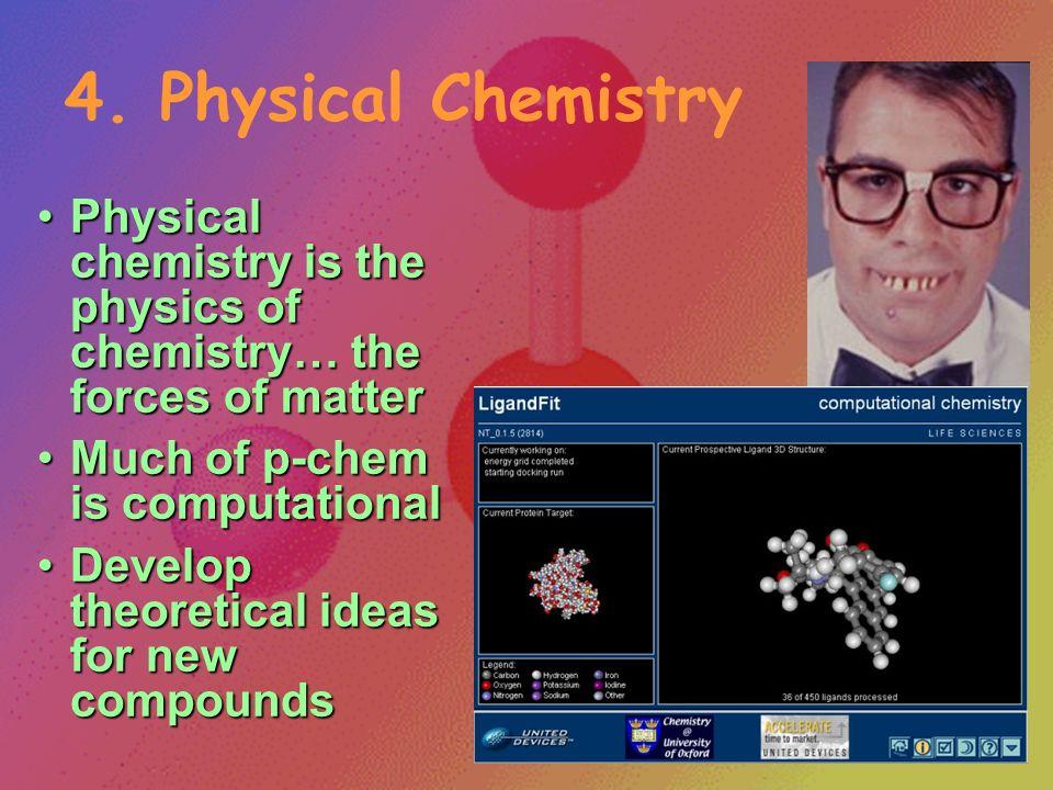 3. Biochemistry Biochemistry is the study of chemistry in living thingsBiochemistry is the study of chemistry in living things Cross between biology a
